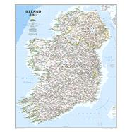 Ireland Classic by National Geographic Maps, 9781597752541