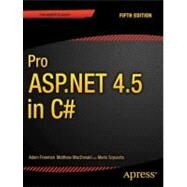 Pro Asp.net 4.5 in C# by Freeman, Adam; MacDonald, Matthew; Szpuszta, Mario, 9781430242543