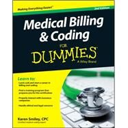 Medical Billing and Coding for Dummies by Smiley, Karen, 9781118982549