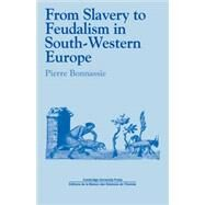 From Slavery to Feudalism in South-Western Europe by Pierre Bonnassie , Translated by Jean Birrell, 9780521112550