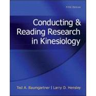 Conducting & Reading Research In Kinesiology by Baumgartner, Ted; Hensley, Larry, 9780078022555