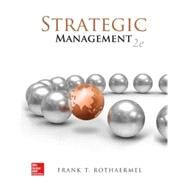 Strategic Management: Concepts with Connect Plus by Rothaermel, Frank, 9781259282560