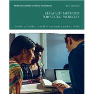 Research Methods for Social Workers by Yegidis, Bonnie L.; Weinbach, Robert W.; Myers, Laura L., 9780134512563
