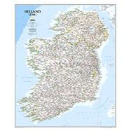 Ireland Classic by National Geographic Maps, 9781597752565