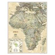 Africa Executive by National Geographic Maps, 9781597752572
