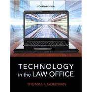 Technology in the Law Office by Goldman, Thomas F., 9780133802573