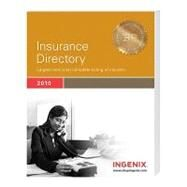Insurance Directory 2010 by Ingenix, 9781601512574