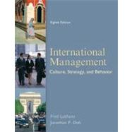 International Management: Culture, Strategy, and Behavior by Luthans, Fred; Doh, Jonathan, 9780078112577