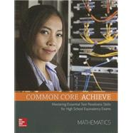 Common Core Achieve, Mathematics Subject Module by Contemporary, 9780021432578