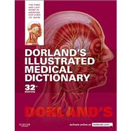 Dorland's Illustrated Medical Dictionary (Book with CD-ROM + Access Code) by Dorland, 9781416062578