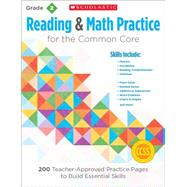 Reading and Math Practice: Grade 2 200 Teacher-Approved Practice Pages to Build Essential Skills by Lee, Martin; Miller, Marcia, 9780545672580