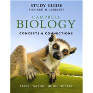 Study Guide Campbell Biology: Concepts & Connections With Masteringbiology by REECE, TAYLOR, 9780321742582