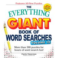 The Everything Giant Book of Word Searches by Timmerman, Charles, 9781507202586