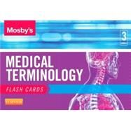 Mosby's Medical Terminology Flash Cards by Mosby, 9780323222587