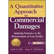 A Quantitative Approach to Commercial Damages,   Website Applying Statistics to the Measurement of Lost Profits