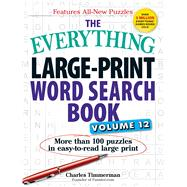 The Everything Large-Print Word Search Book by Timmerman, Charles, 9781507202593