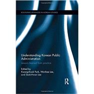 Understanding Korean Public Administration: Lessons learned from practice by Park; Kwang Kook, 9781138902596