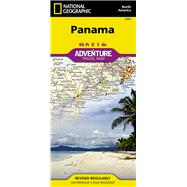 National Geographic Adventure Map Panama by National Geographic Maps, 9781566952606