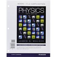 Physics, Books a la Carte Plus Mastering Physics with Pearson eText -- Access Card Package by Walker, James S., 9780134032610