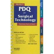 Mosby's PDQ for Surgical Technology by Hueske, Robin D., 9780323052610
