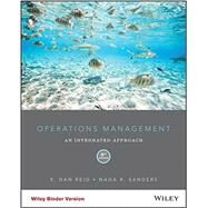 Operations Management by Reid, R. Dan; Sanders, Nada R., 9781118952610