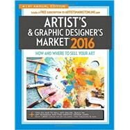 Artist's & Graphic Designer's Market 2016 by Bostic, Mary Burzlaff, 9781440342615