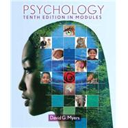 Psychology : In Modules by Myers, David G., 9781464102615