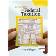 Concepts in Federal Taxation 2019 (with Intuit ProConnect Tax Online 2017 and RIA Checkpoint 1 term (6 months) Printed Access Card) by Murphy, Kevin E.; Higgins, Mark, 9781337702621