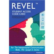 REVEL for The Interpersonal Communication Book -- Access Card by DeVito, Joseph A., 9780133922622