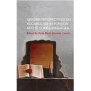 Gender Perspectives on Vocabulary in Foreign and Second Languages by Catalan, Rosa Maria Jimanez, 9780230232624