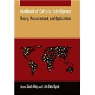 Handbook of Cultural Intelligence by Ang,Soon, 9780765622624