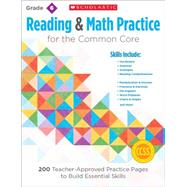 Reading and Math Practice: Grade 6 200 Teacher-Approved Practice Pages to Build Essential Skills by Lee, Martin; Miller, Marcia, 9780545672627
