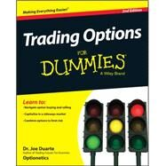 Trading Options for Dummies by Duarte, Joe, Dr., M.D., 9781118982631