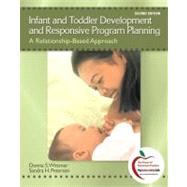 Infant and Toddler Development and Responsive Program Planning : A Relationship-Based Approach by Wittmer, Donna S.; Petersen, Sandy, 9780137152636