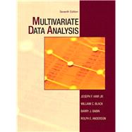 Multivariate Data Analysis by Hair, Joseph F., Jr; Black, William C.; Babin, Barry J.; Anderson, Rolph E., 9780138132637
