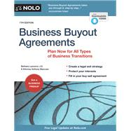 Business Buyout Agreements by Mancuso, Anthony; Laurence, Bethany, 9781413322637