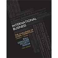International Business : The Challenge of Global Competition by Ball, Donald; Geringer, Michael; Minor, Michael; McNett, Jeanne, 9780078112638