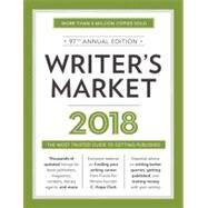 Writer's Market 2018 by Brewer, Robert Lee, 9781440352638