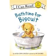Bathtime for Biscuit by Capucilli, Alyssa Satin, 9780064442640