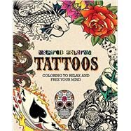 Inspired Coloring Tattoos by Parragon, 9781472392640