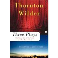 Three Plays by Wilder, Thornton, 9780060512644