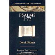 Psalms 1-72 by Kidner, Derek, 9780877842644