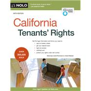 California Tenants' Rights by Portman, Janet; Weaver, J. Scott, 9781413322651