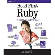 Head First Ruby by Mcgavren, Jay, 9781449372651