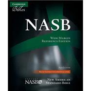 NASB Wide Margin Reference Bible, Black Edge-Lined Goatskin Leather, Red Letter Text NS746:XRME by Bible, 9780521702652