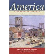 America : A Narrative History Brief 9th Edition (One-Volume) by TINDALL,GEORGE B., 9780393912654