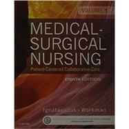 Medical-Surgical Nursing + Clinical Nursing Judgment Study Guide: Patient-Centered Collaborative Care by Ignatavicius, Donna D., R.N., 9780323222662