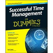Successful Time Management for Dummies by Zeller, Dirk, 9781118982662