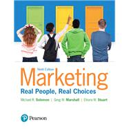 Marketing Real People, Real Choices by Solomon, Michael R.; Marshall, Greg W.; Stuart, Elnora W., 9780134292663