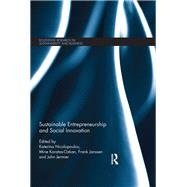 Sustainable Entrepreneurship and Social Innovation by Nicolopoulou; Katerina, 9781138812666
